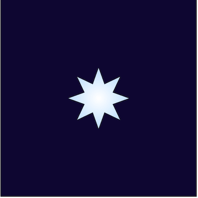 Gradient star