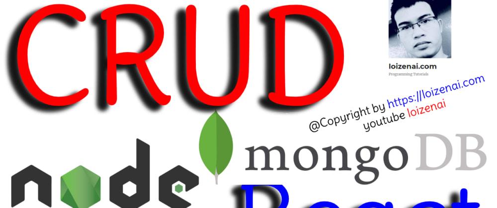 Cover image for Reactjs Nodejs MongoDB CRUD Example