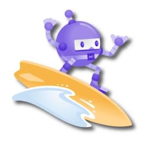 .NET Robot Surfing by Microsoft