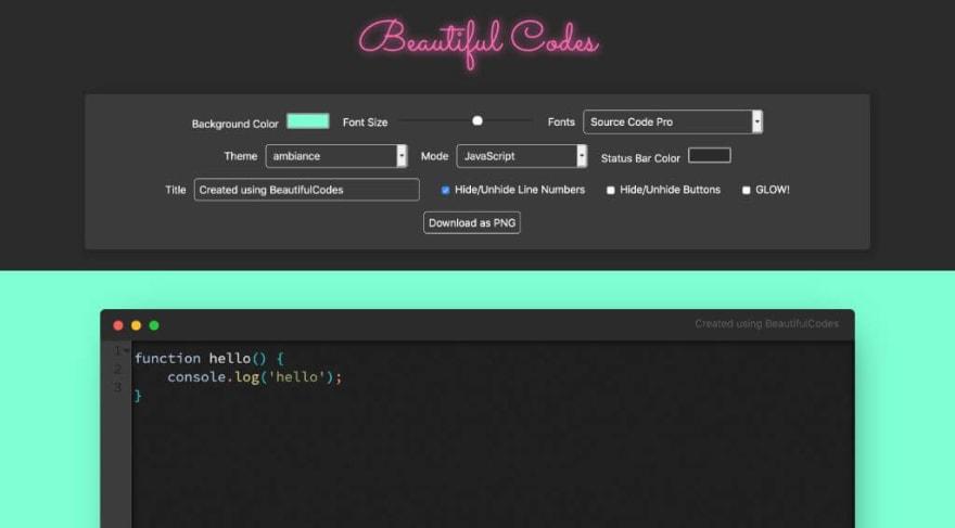 Beautiful Codes