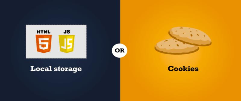 Cookies vs Local Storage