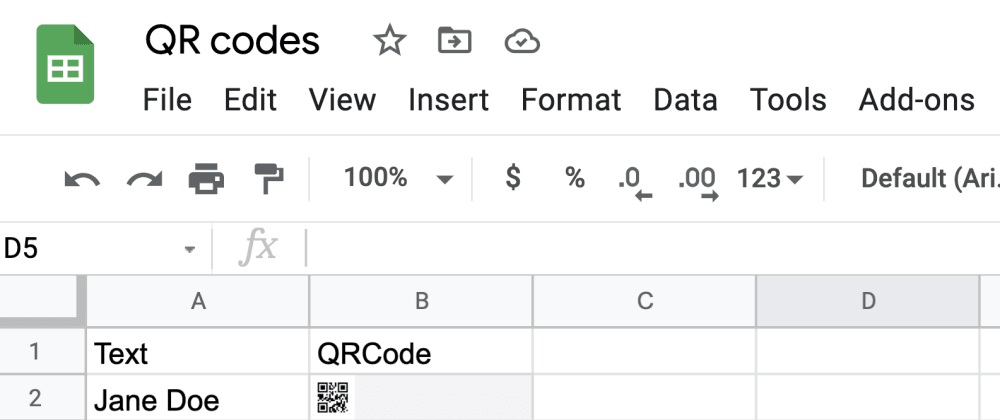Cover image for How To Generate QR Codes with GraphQL Mutations Using Google Sheets