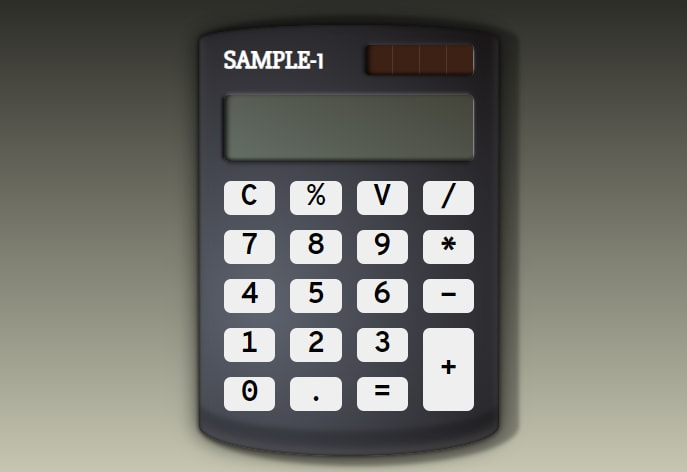Almost finished calculator
