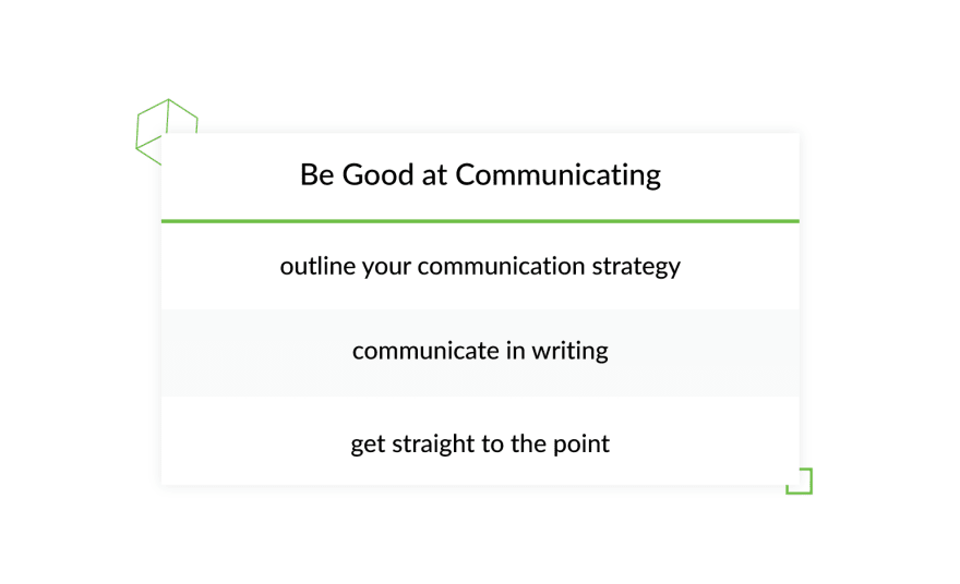 Project Communication tips
