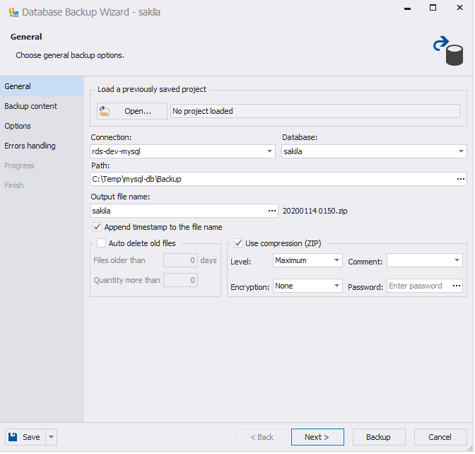 Backing Up a Database in Amazon RDS_02