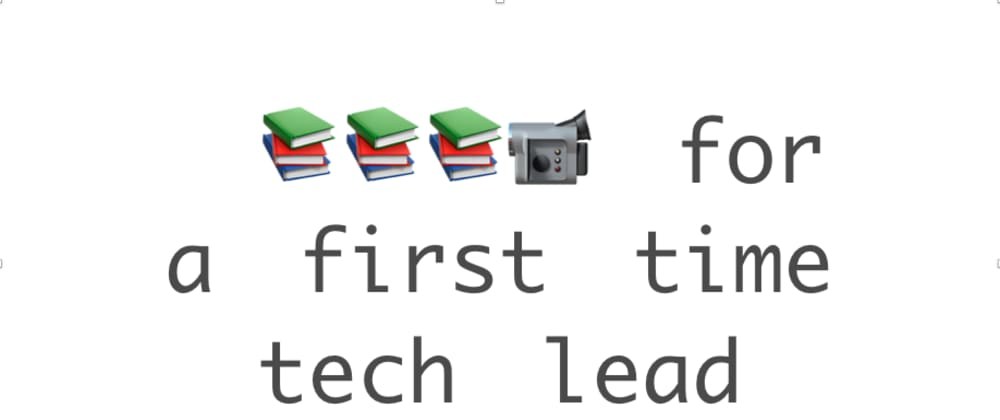 Cover image for 9 books that helped me navigate my first time being a tech lead
