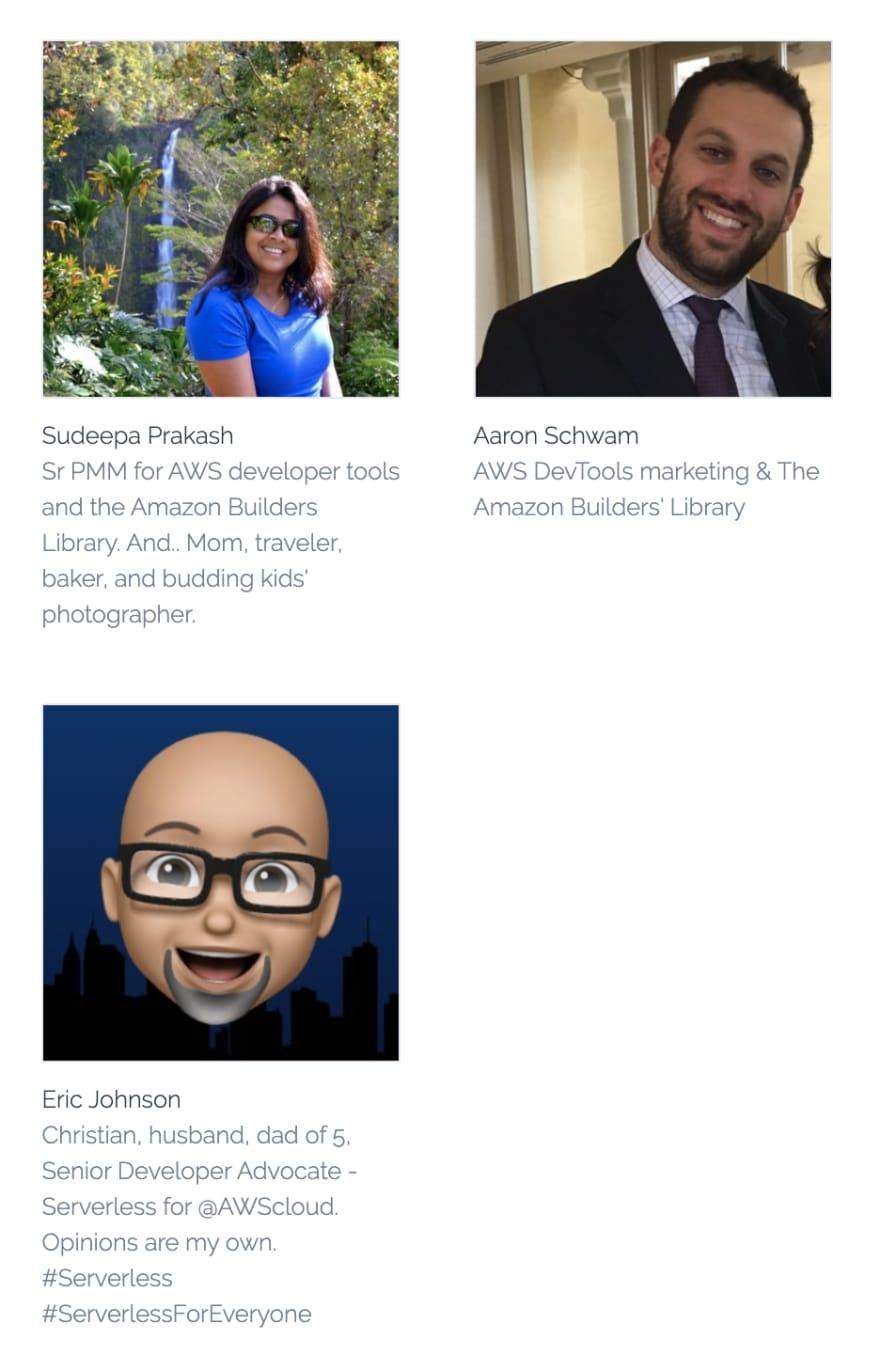 Sudeepa Prakash, Aaron Schwam and Eric Johnson