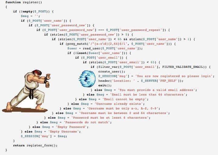 PHP Hadouken