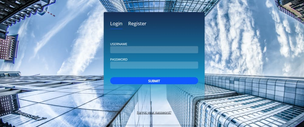 Cover image for ReactJs Animation: Create login/register form with react-spring animation