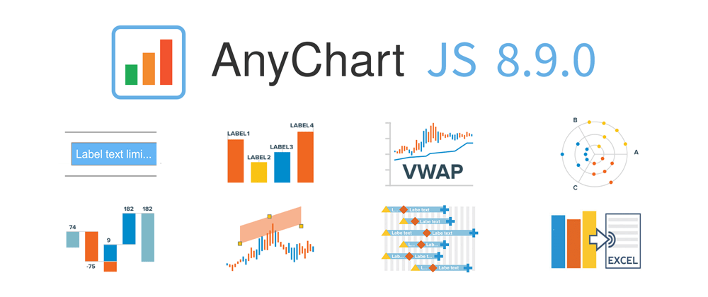 Cover image for 📊 New JS Chart Features in AnyChart 8.9.0