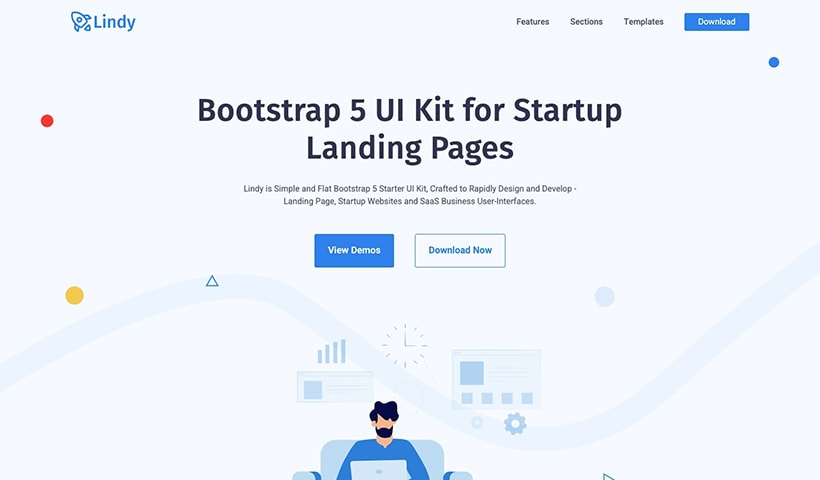 Lindy Bootstrap 5