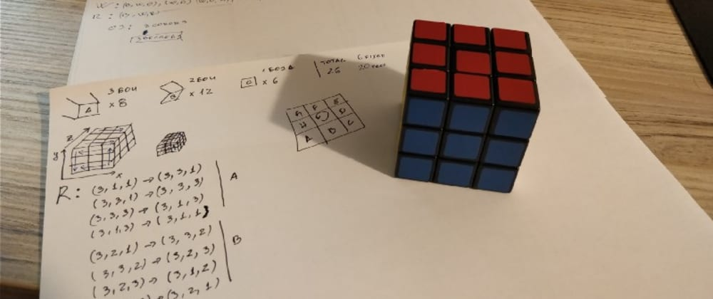 Cover image for From zero to Rubik's cube solving robot
