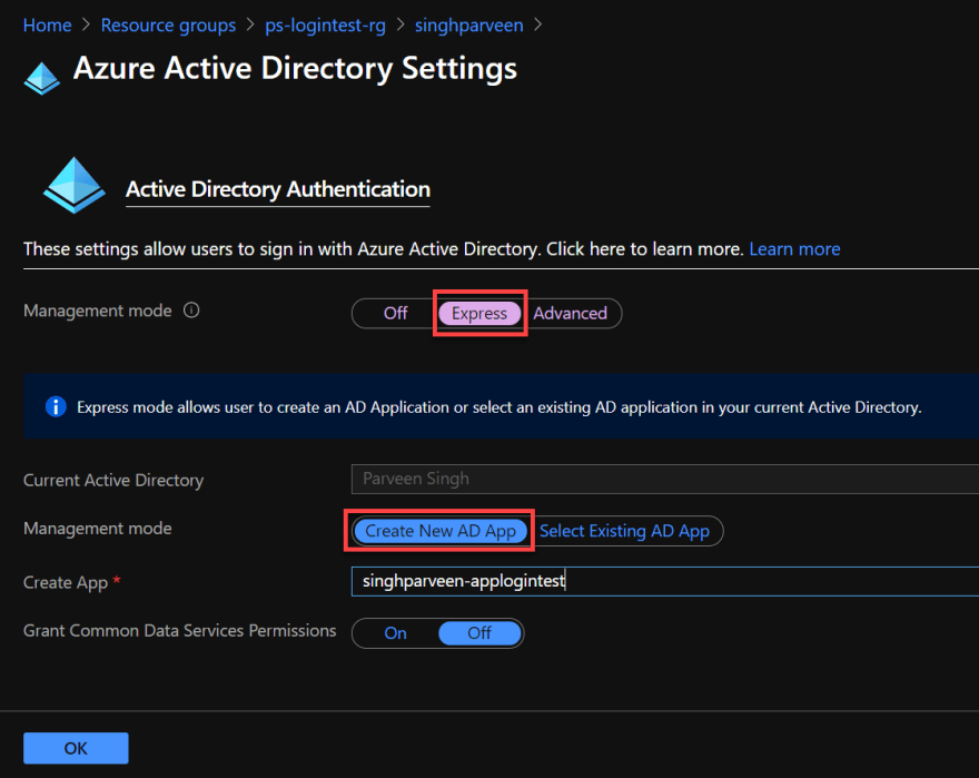 Easy Auth for Azure App Service