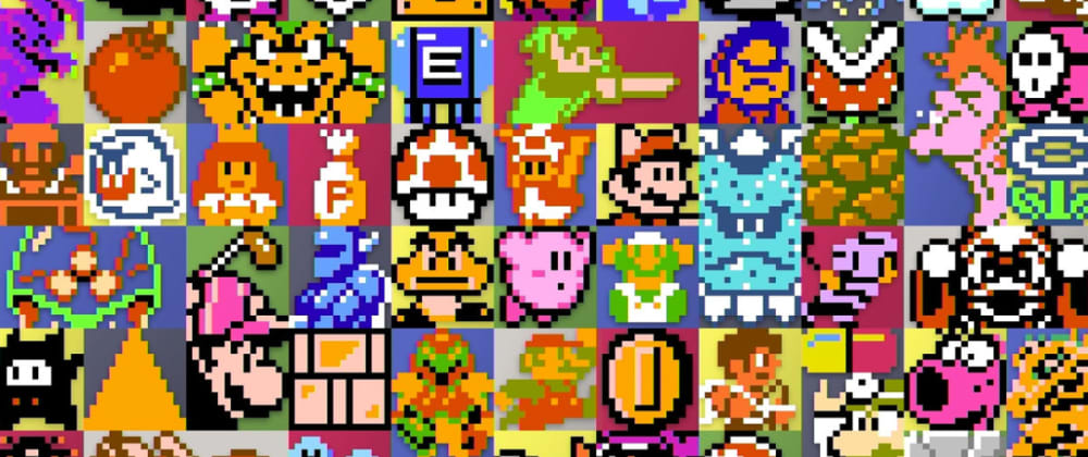 Cover image for Using Computer Vision to extract sprite pixel art