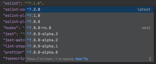 Updating Dependencies in WebStorm