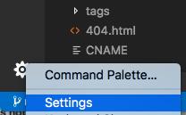 VS Code Settings