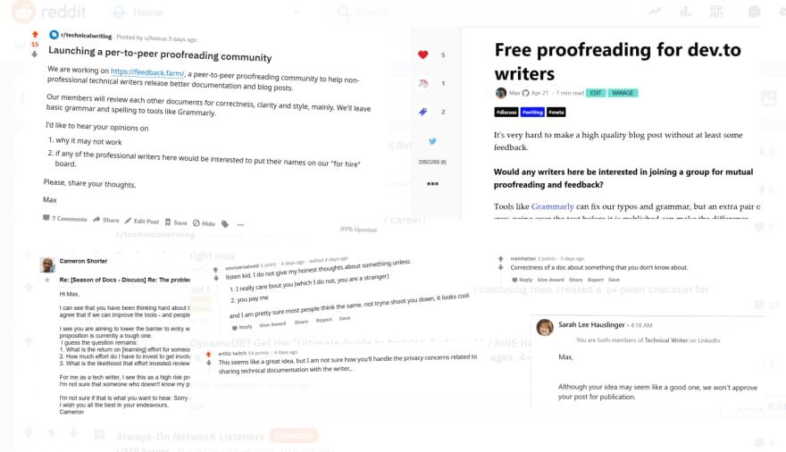 online feedback