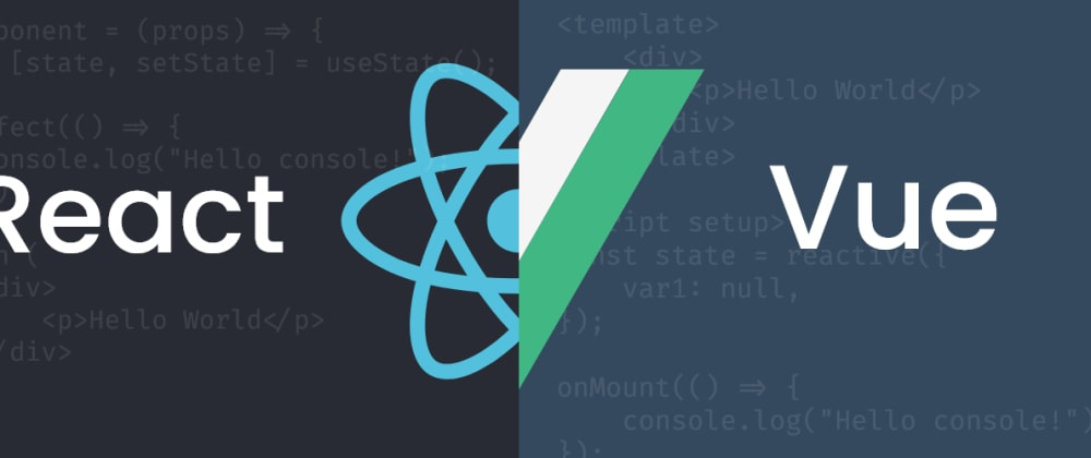 Cover image for React VS Vue | How about some style ✨?