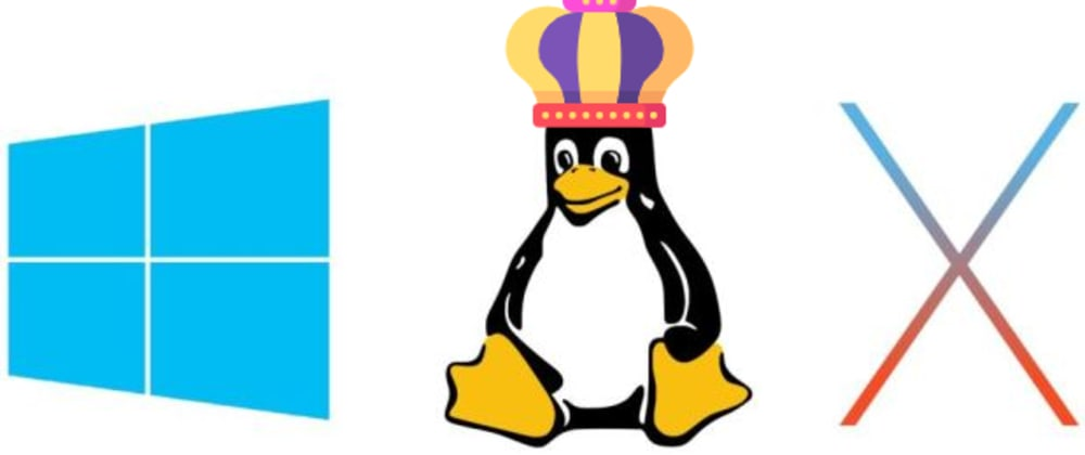 Cover image for Linux 101 - the king of operating systems 👑
