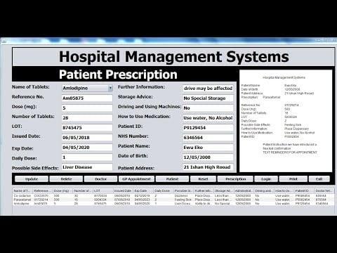 Intelligent Hospital System