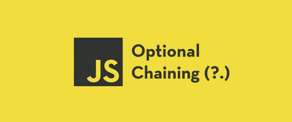 Cover image for Using the optional chaining operator in JavaScript