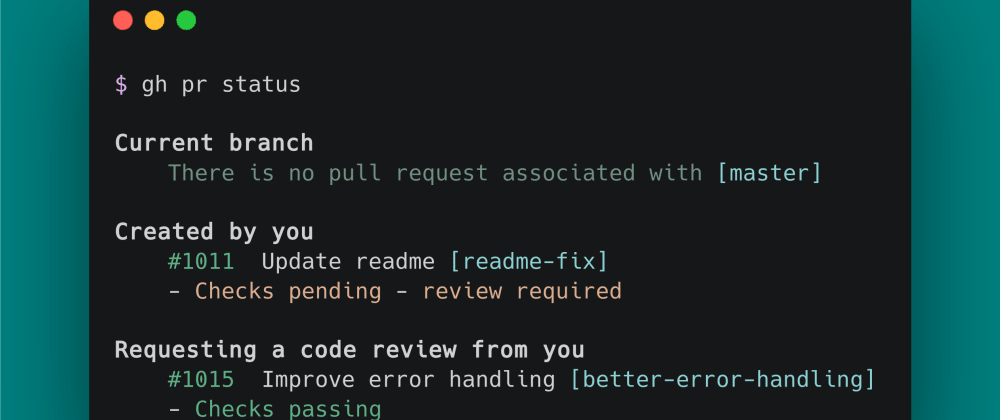 Cover image for Oficial Github CLI in beta