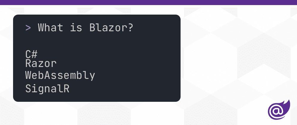 Cover image for What is Blazor?