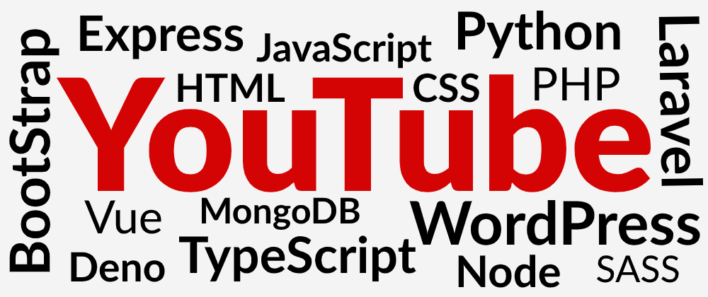 Cover image for 10 Web Development YouTube Channels You Probably Didn't Know About