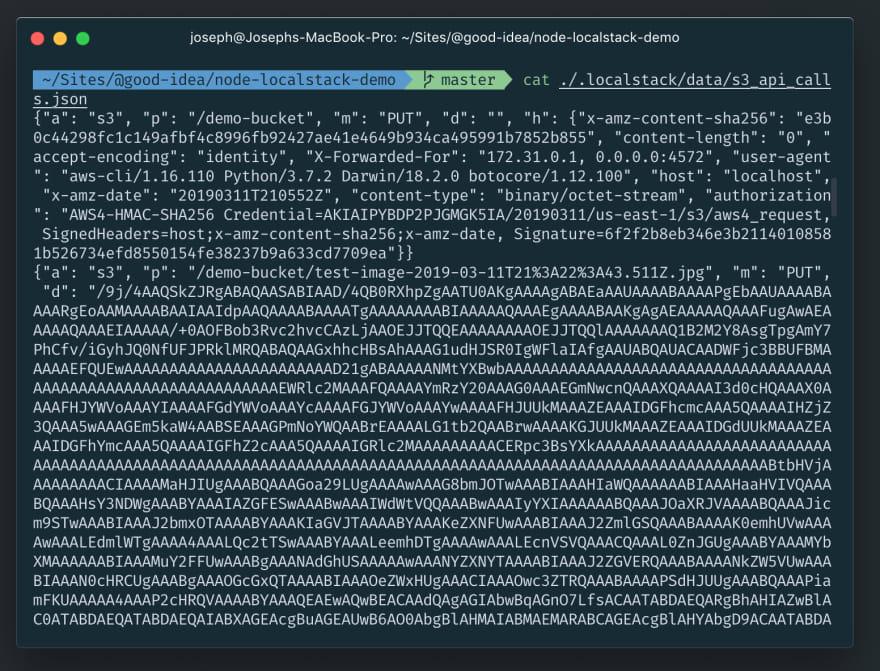 Image binary data
