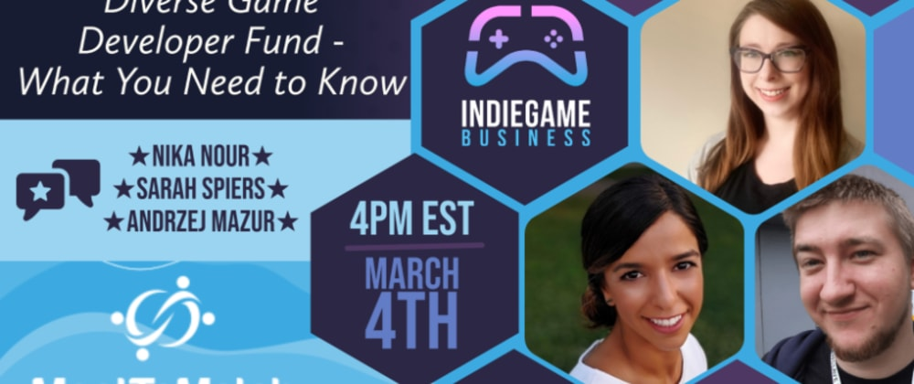 Cover image for Diverse Game Developers Fund at Indie Game Business