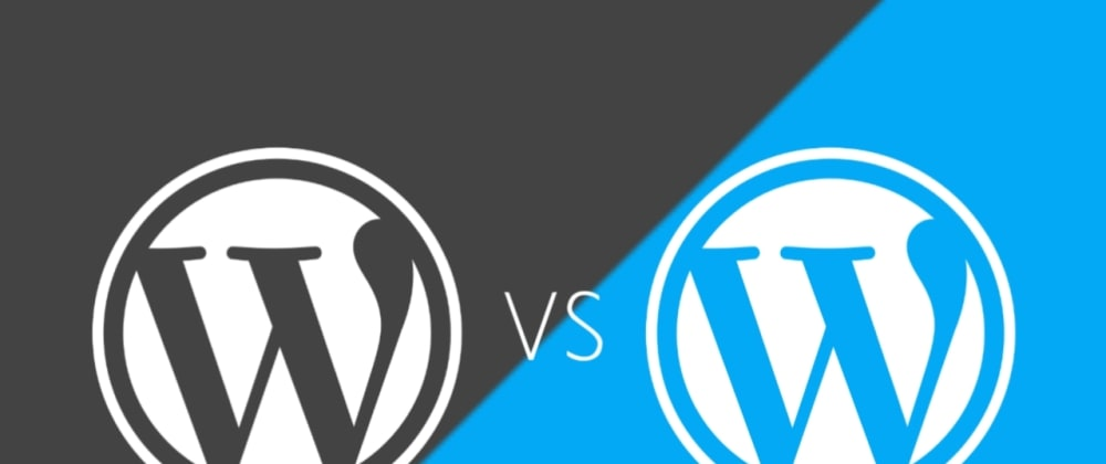 Cover image for Difference Between WordPress.org And WordPress.com