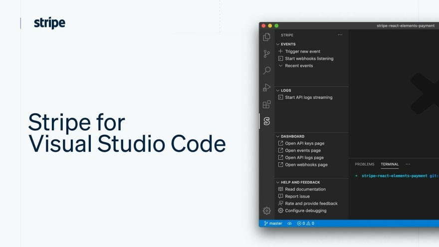 Stripe for Visual Studio Code