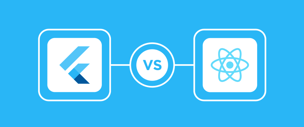 Cover image for How large is Flutter vs React Native community in 2021