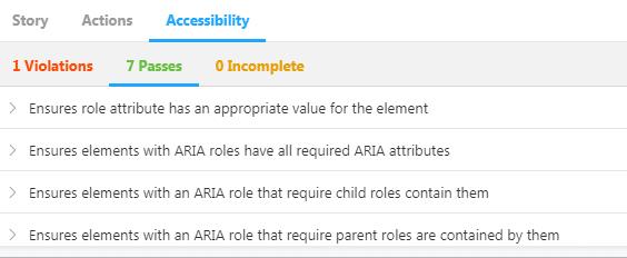 Accessibility Addon
