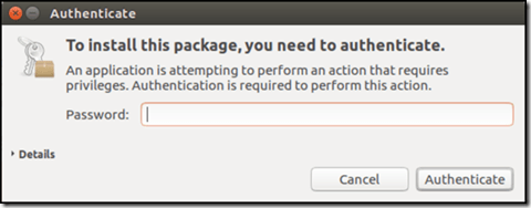 Authenticate installing software