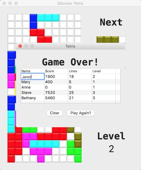Tetris Part 4