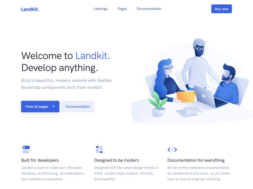 Landkit – Multipurpose Template