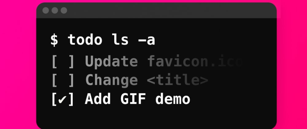 Cover image for How to Make an Interactive Todo List CLI using Python with an Easy Login Mechanism