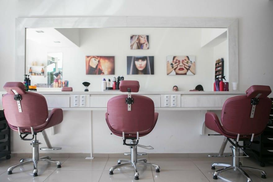 Presentation image beauty salon