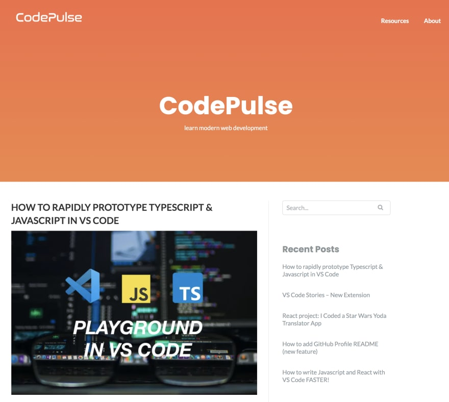 CodePulse blog