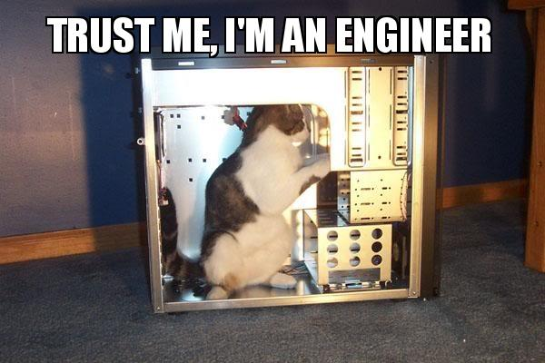 Trust me I'm an engineer meme
