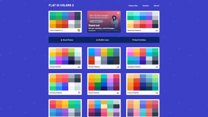 Flatuicolors