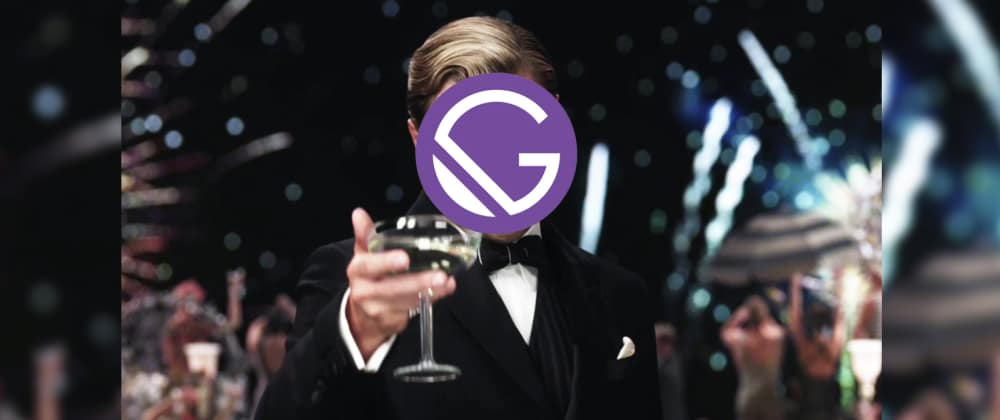 Cover image for Site generating with the great GatsbyJS