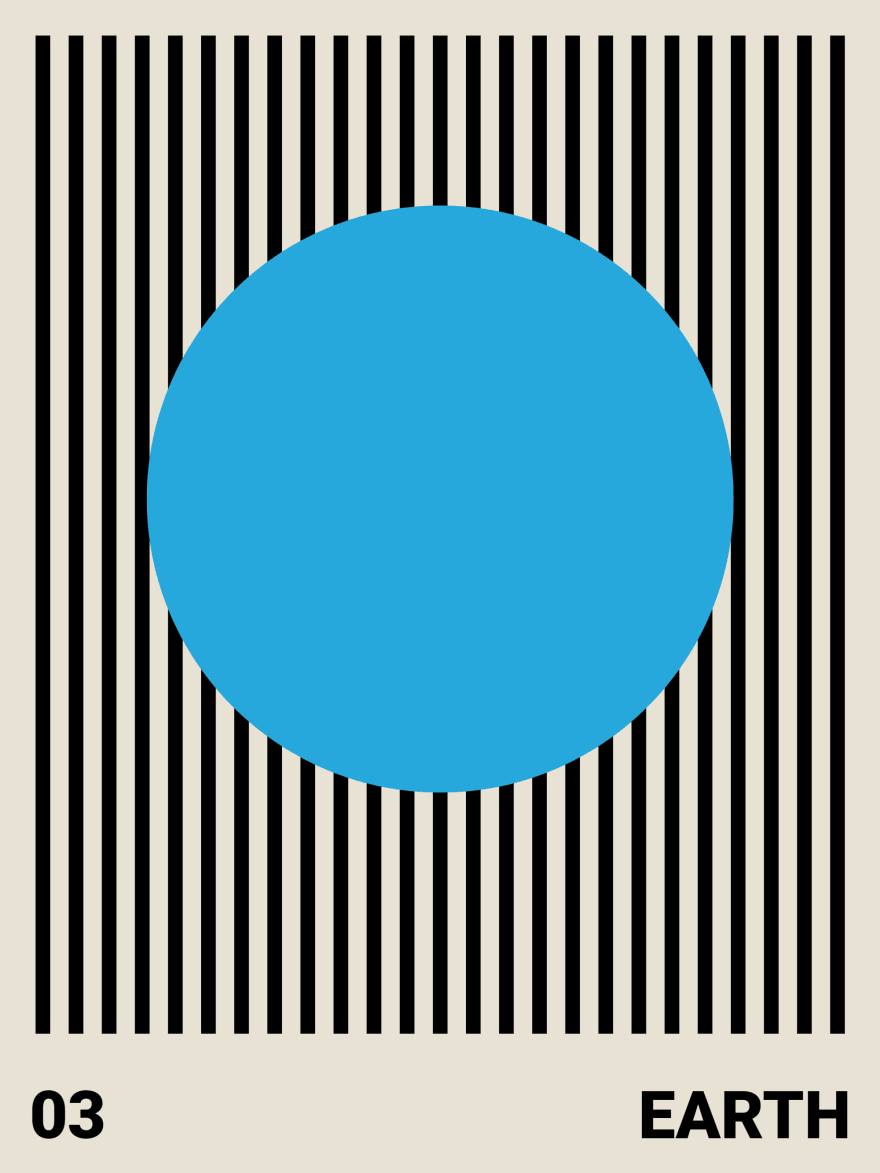 The Earth variant of the Poster