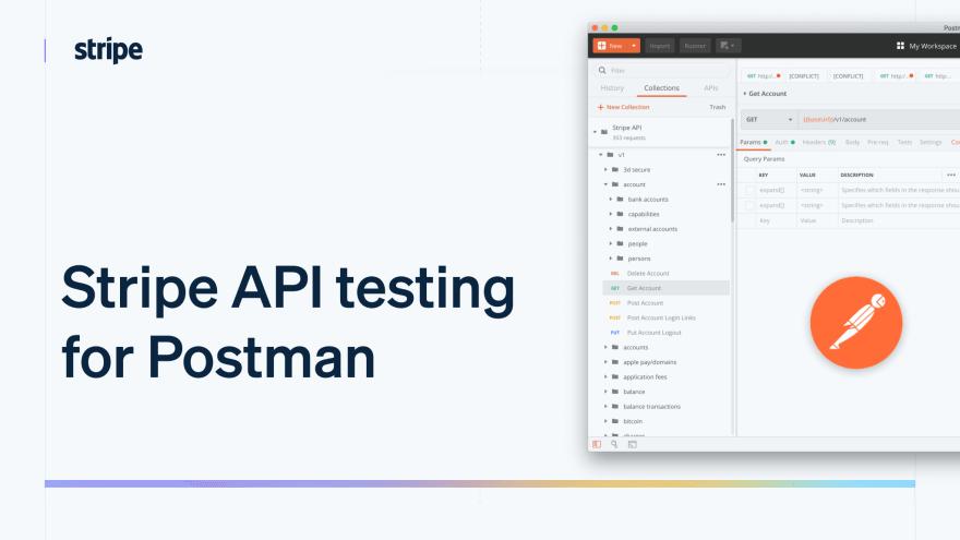 Stripe API testing for Postman