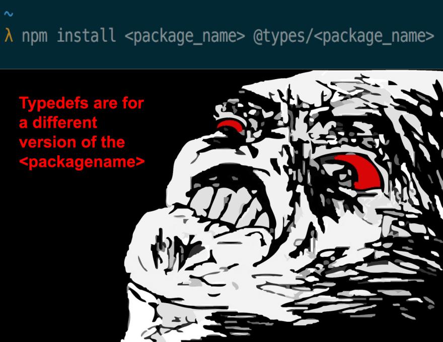 wtf typescript