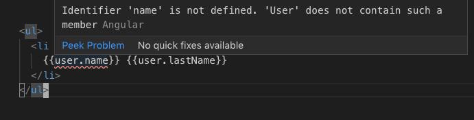 Interface not matching