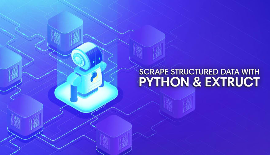 Scrape Structured Data with Python and Extruct