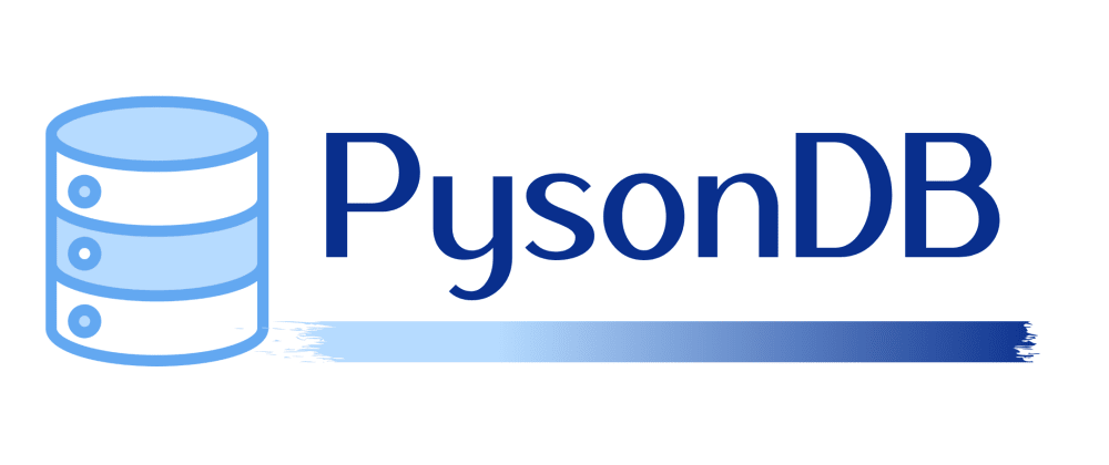 Cover image for PysonDB - A JSON based lightweight Database for Python.