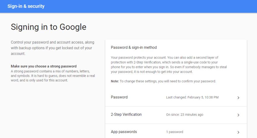 Gmail Configurre